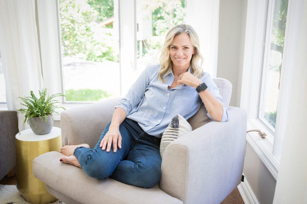 Portrait of Monique Kavelaars, client of Sara Smeaton Coaching
