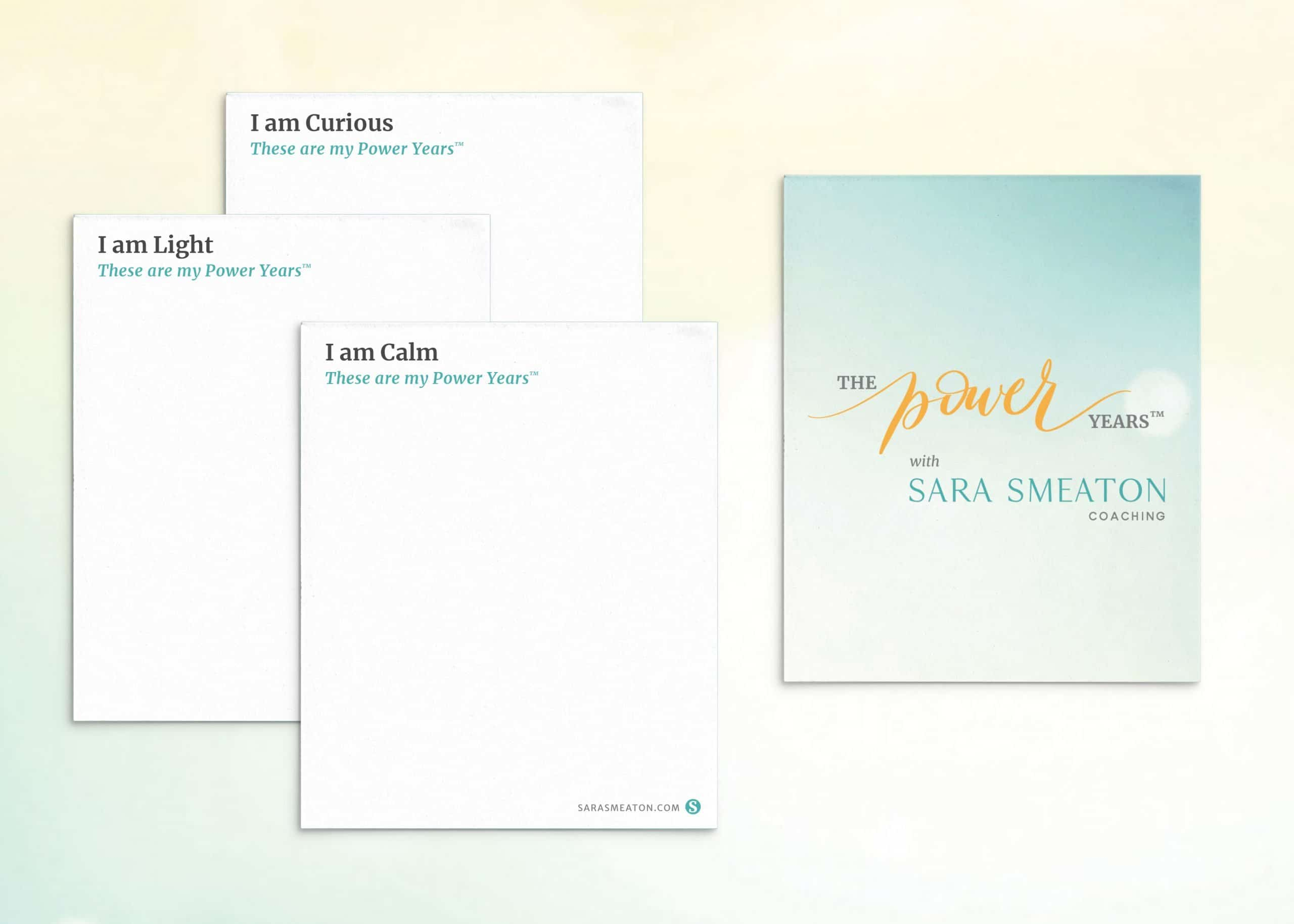 "Sara Smeaton Coaching ""I Am"" Card Deck"